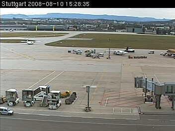 Webcams gratis: Pista del aeropuerto de Stuttgart