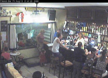 Webcams bares de amigos, karaoke