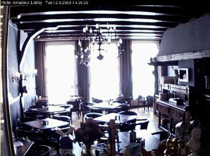 Webcams cafeterias hoteles