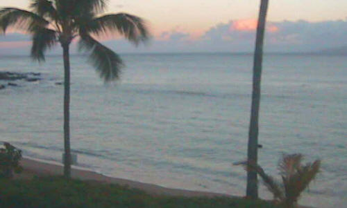 Webcams: Playa tranquila al amanecer.