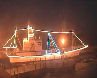 Webcam barco en el puerto